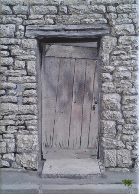 petite porte de grange